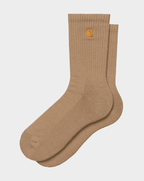 Carhartt Carhartt Chase Socks Brown/Gold