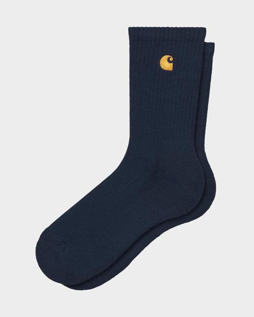 Carhartt Carhartt Chase Socks Dark Navy/Gold