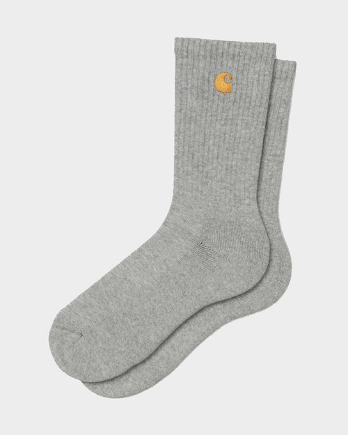 Carhartt Carhartt Chase Socks Grey Heather/Gold