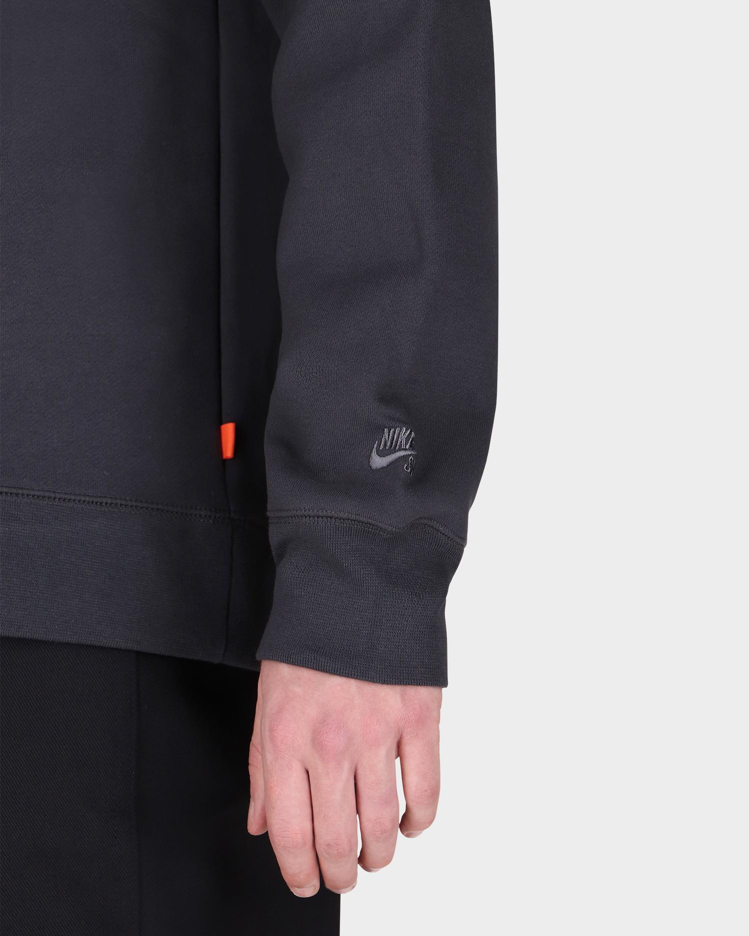 Nike Sb Orange Label Crewneck Smoke Grey/Smoke Grey