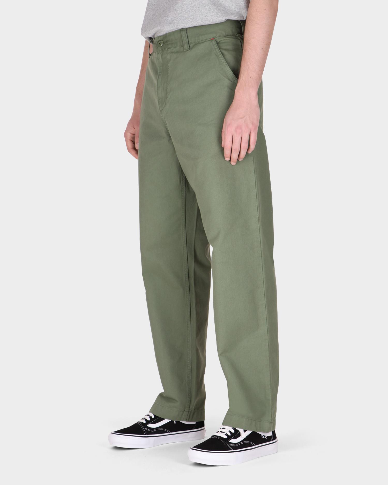 Carhartt Wesley Pant Cotton Dollar Green