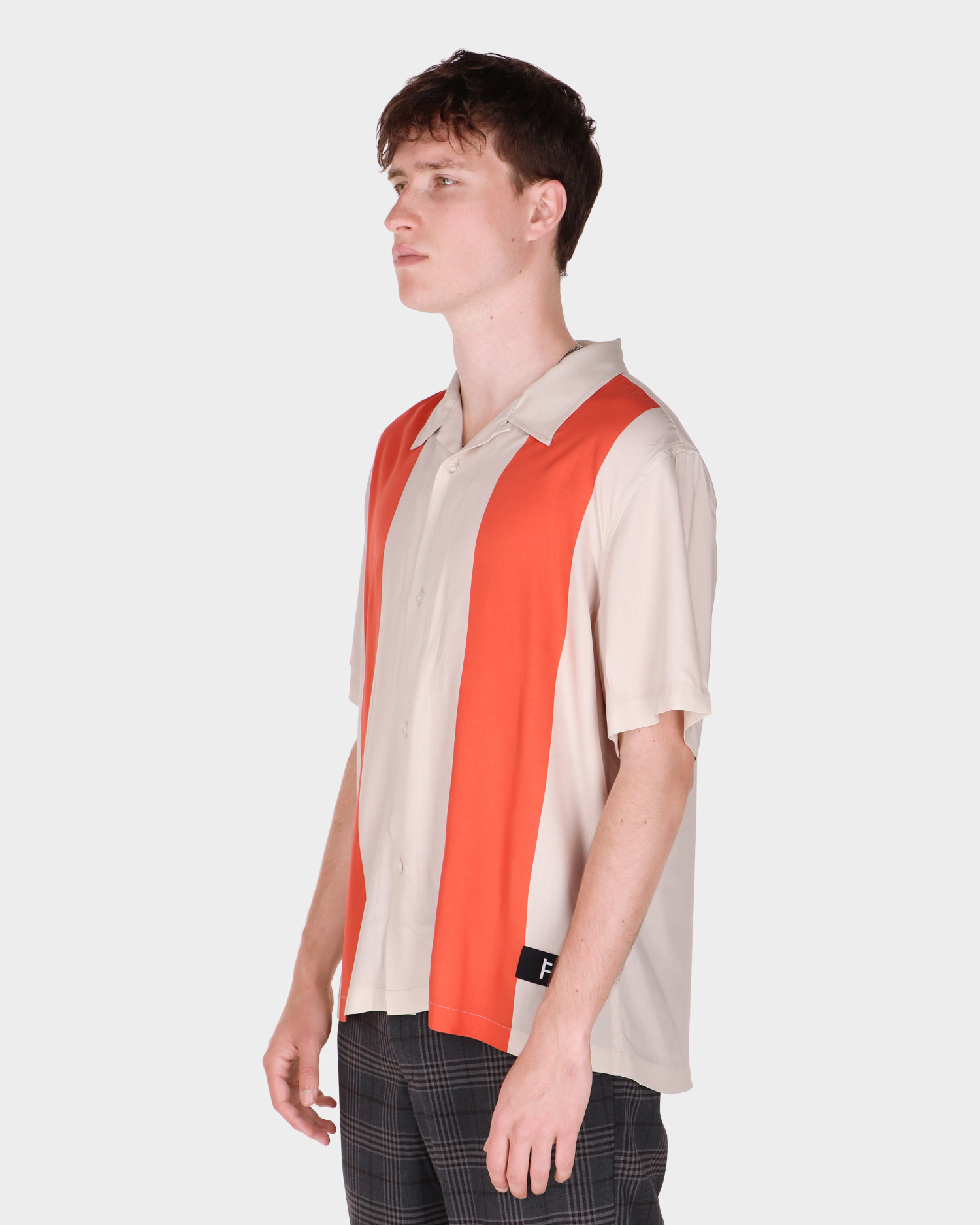 Former Lucent Shortsleeve Shirt Off White/Copper
