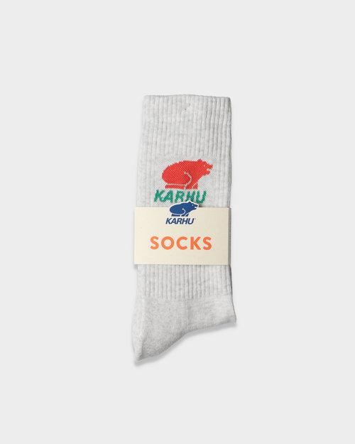 Karhu Karhu classic sock logo grey melange fiesta