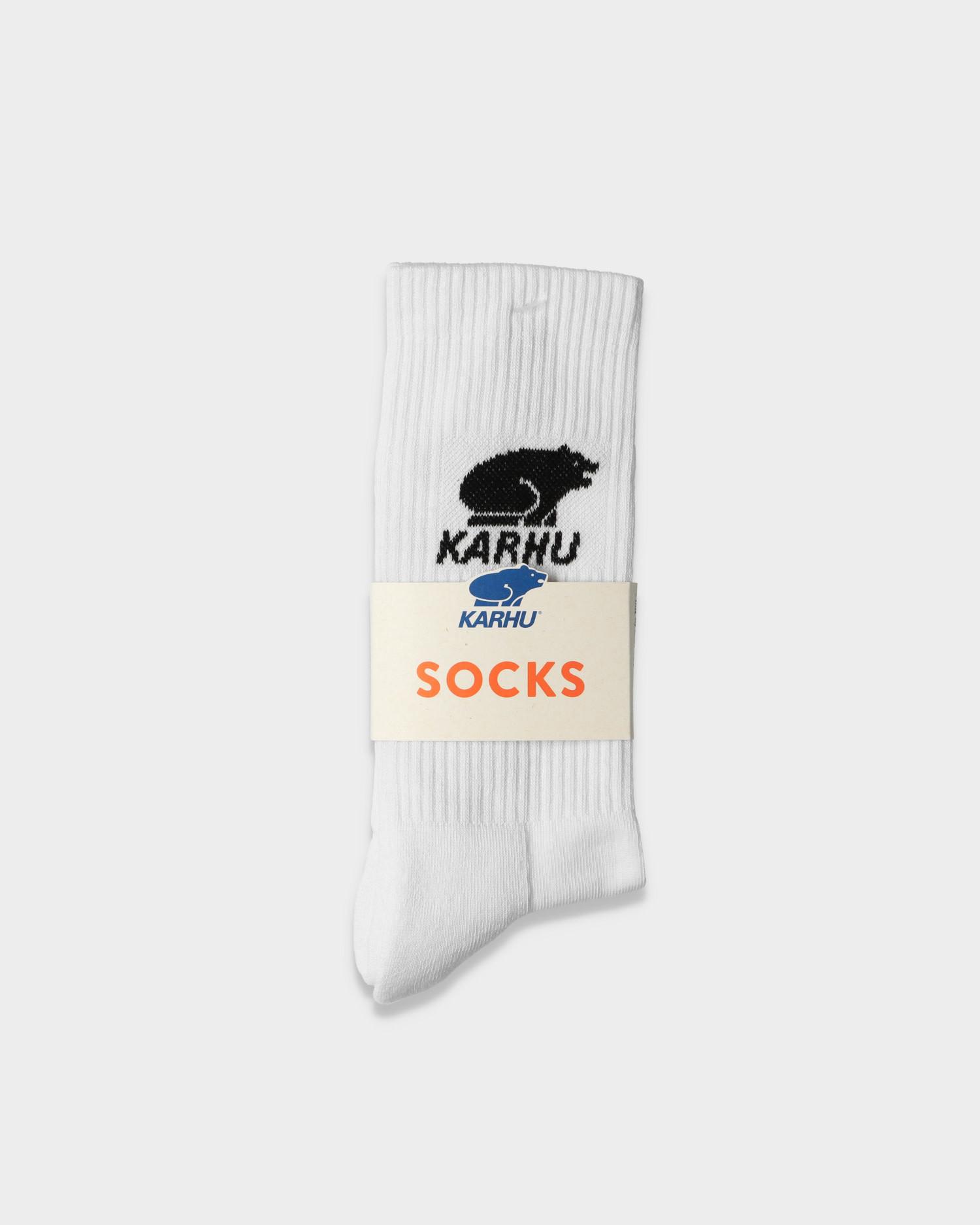 Karhu classic sock logo white Black