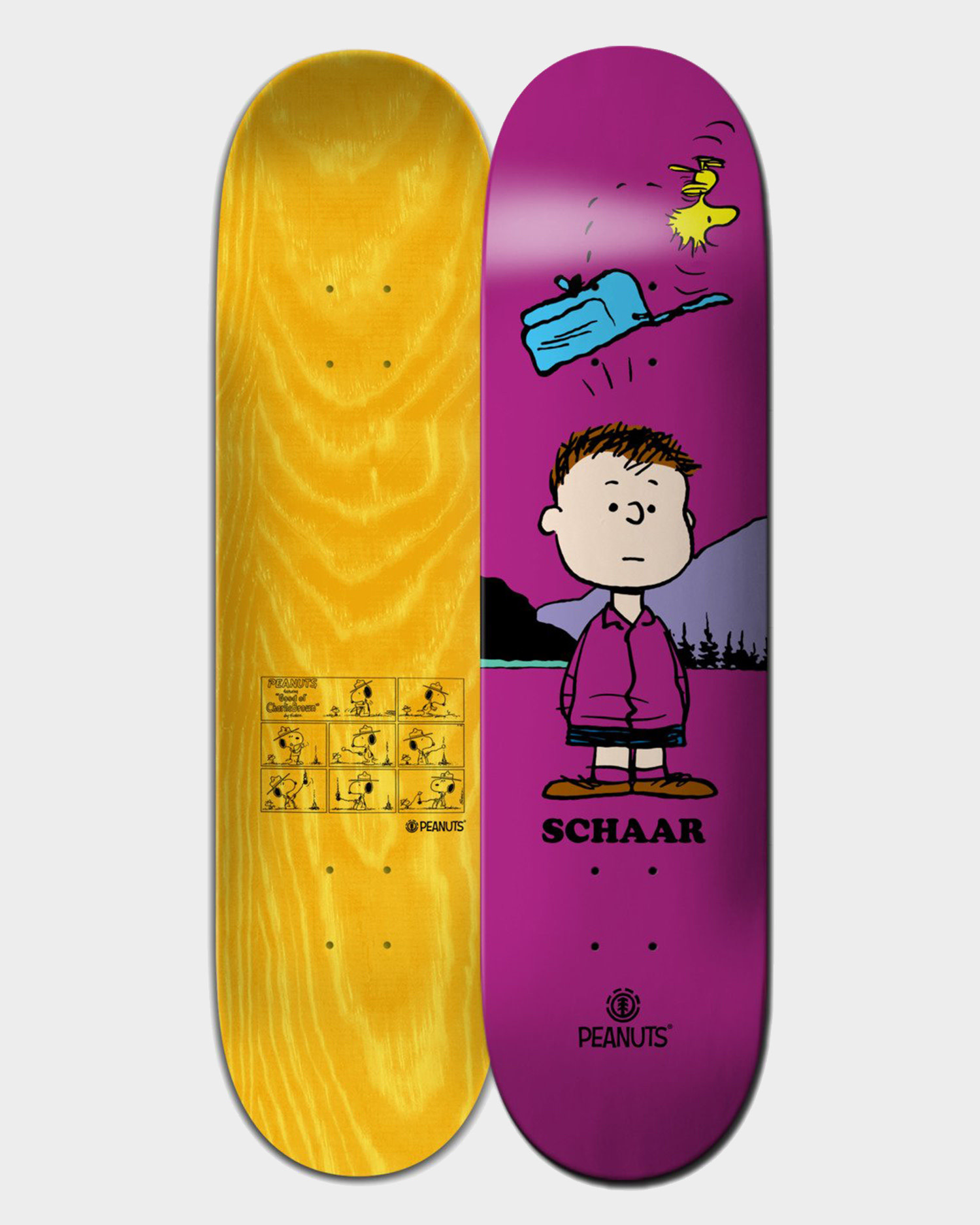 Element Deck Peanuts Shermy 8.38