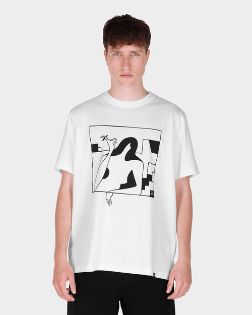Parra Parra Lockdown t-shirt White