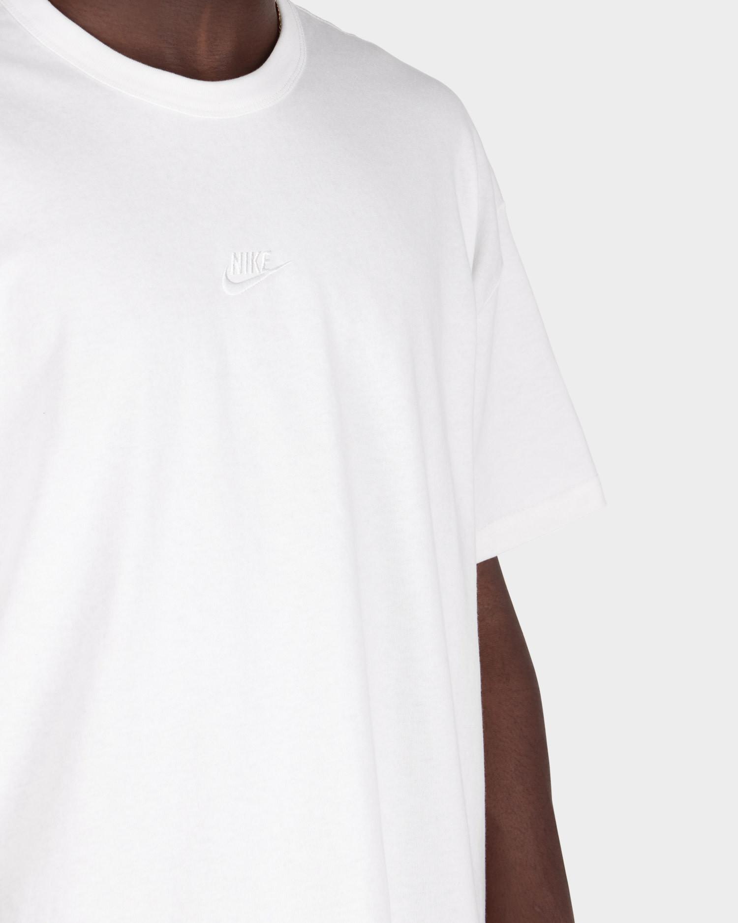 Nike Sportswear Premium Essential T-Shirt White/White