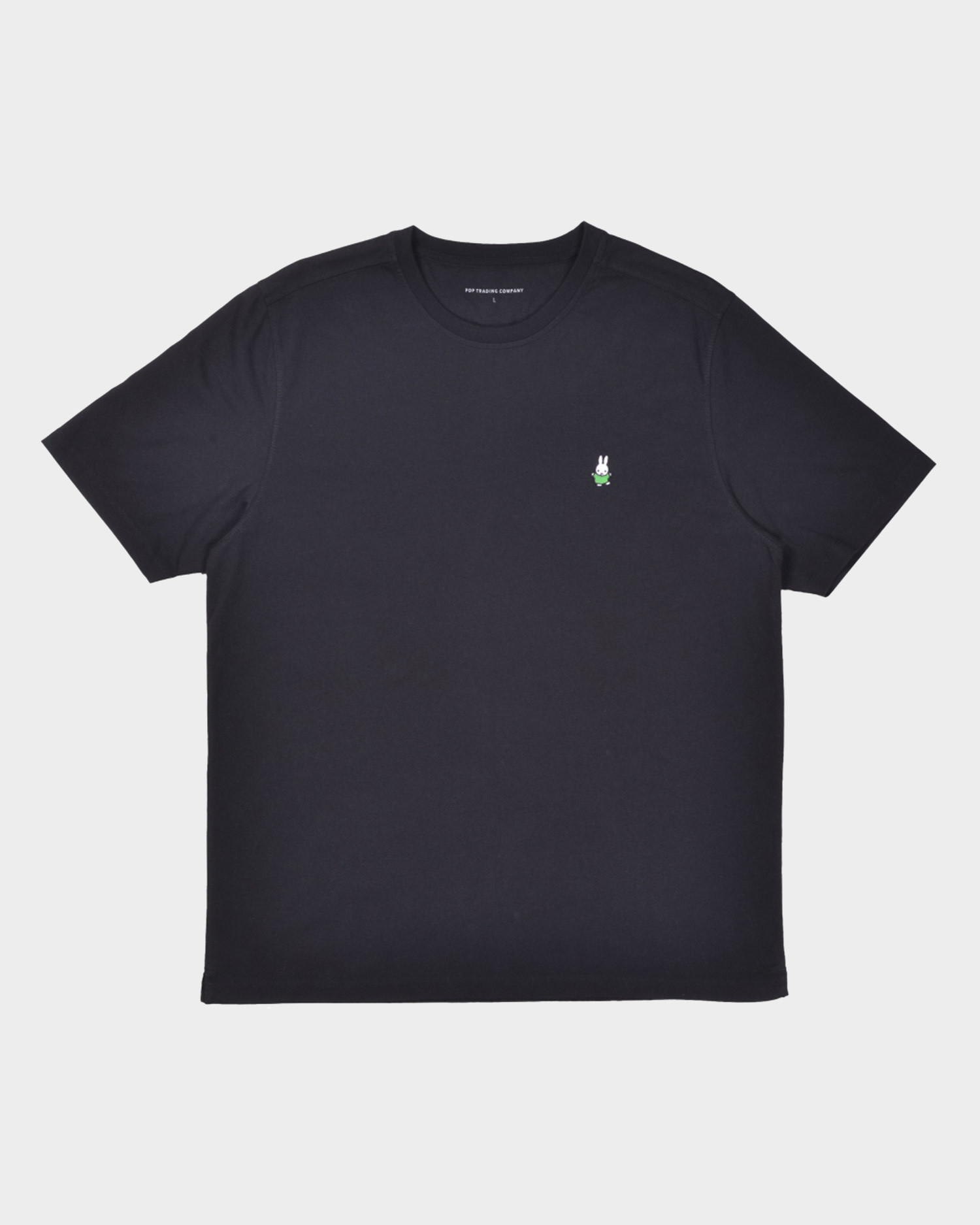 Pop Trading Co X Miffy Dancing Embroidery T-Shirt Black