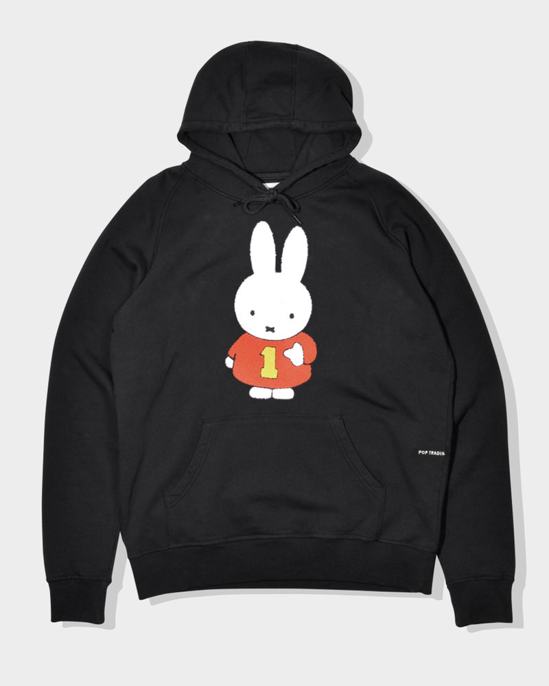 Pop Trading Co Pop Trading Co X Miffy Hooded Sweat Black