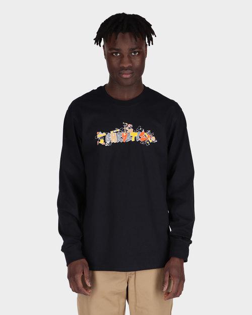 Chrystie Chrystie NYC - Nyc Workers L/s Shirtblack black