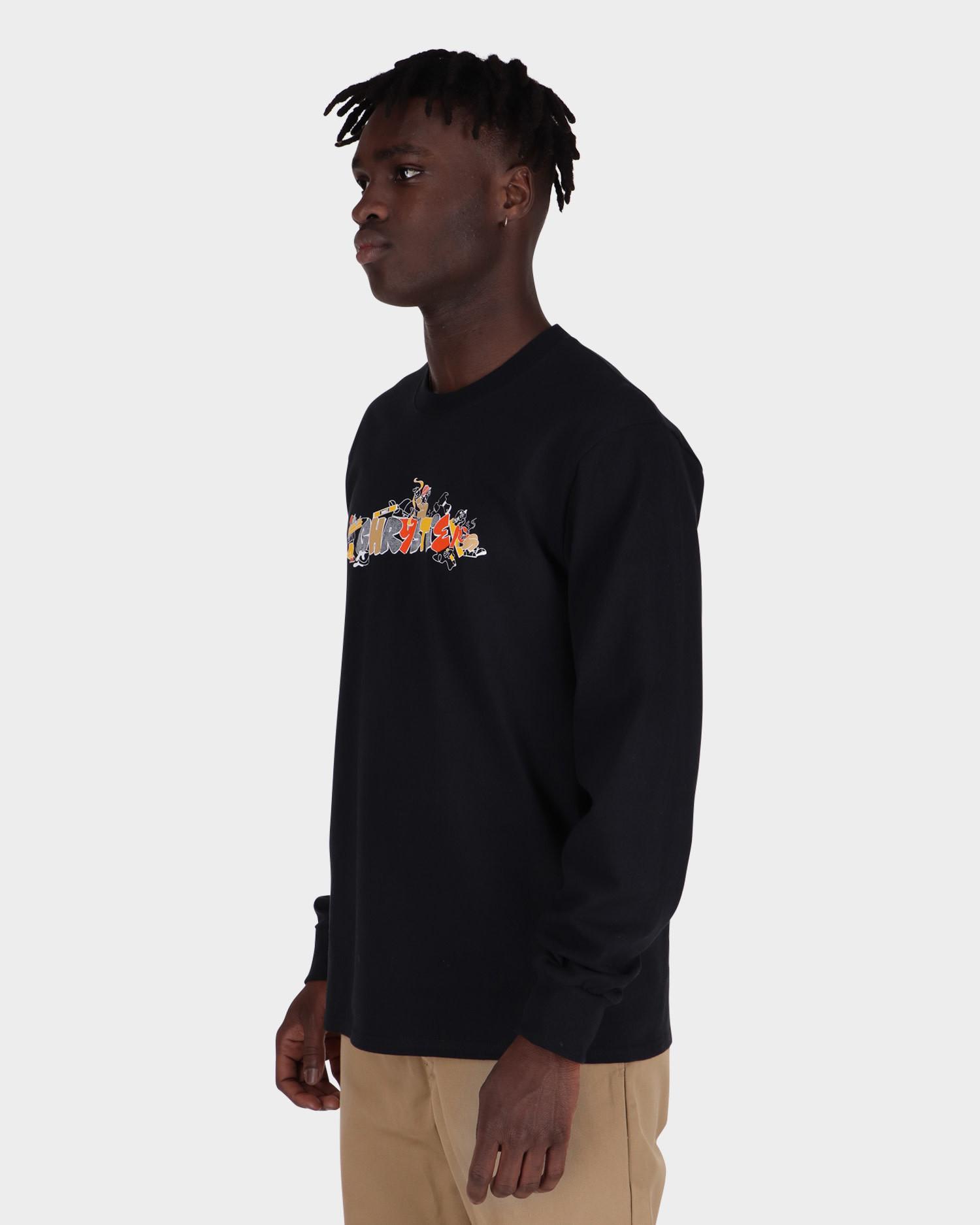 Chrystie NYC - NYC Workers Longsleeve T-Shirt black