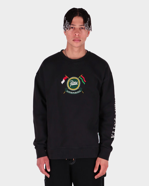 Patta Patta x Tommy Sweatshirt Black