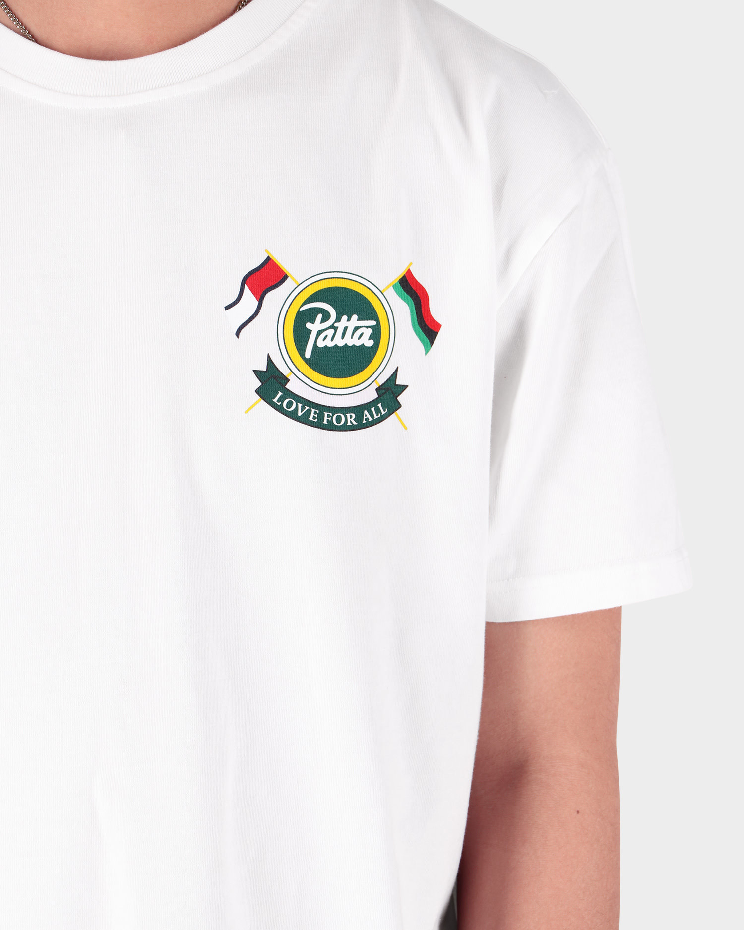 Patta x Tommy Shield Tee White