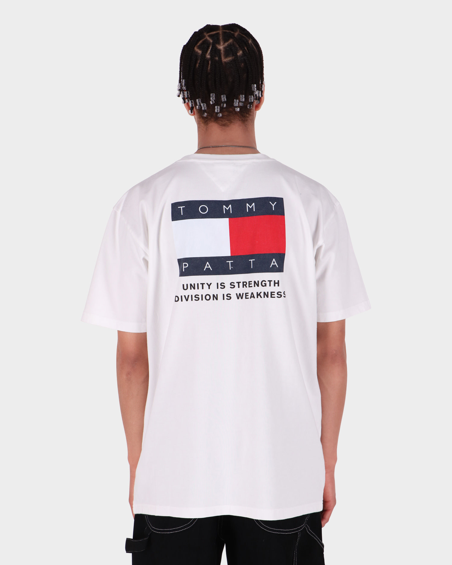 Patta x Tommy Flag Tee White