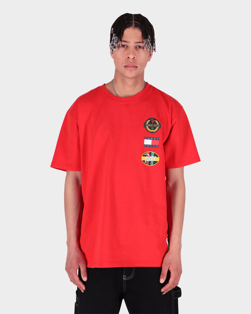 Patta Patta x Tommy Flag Tee High Risk Red