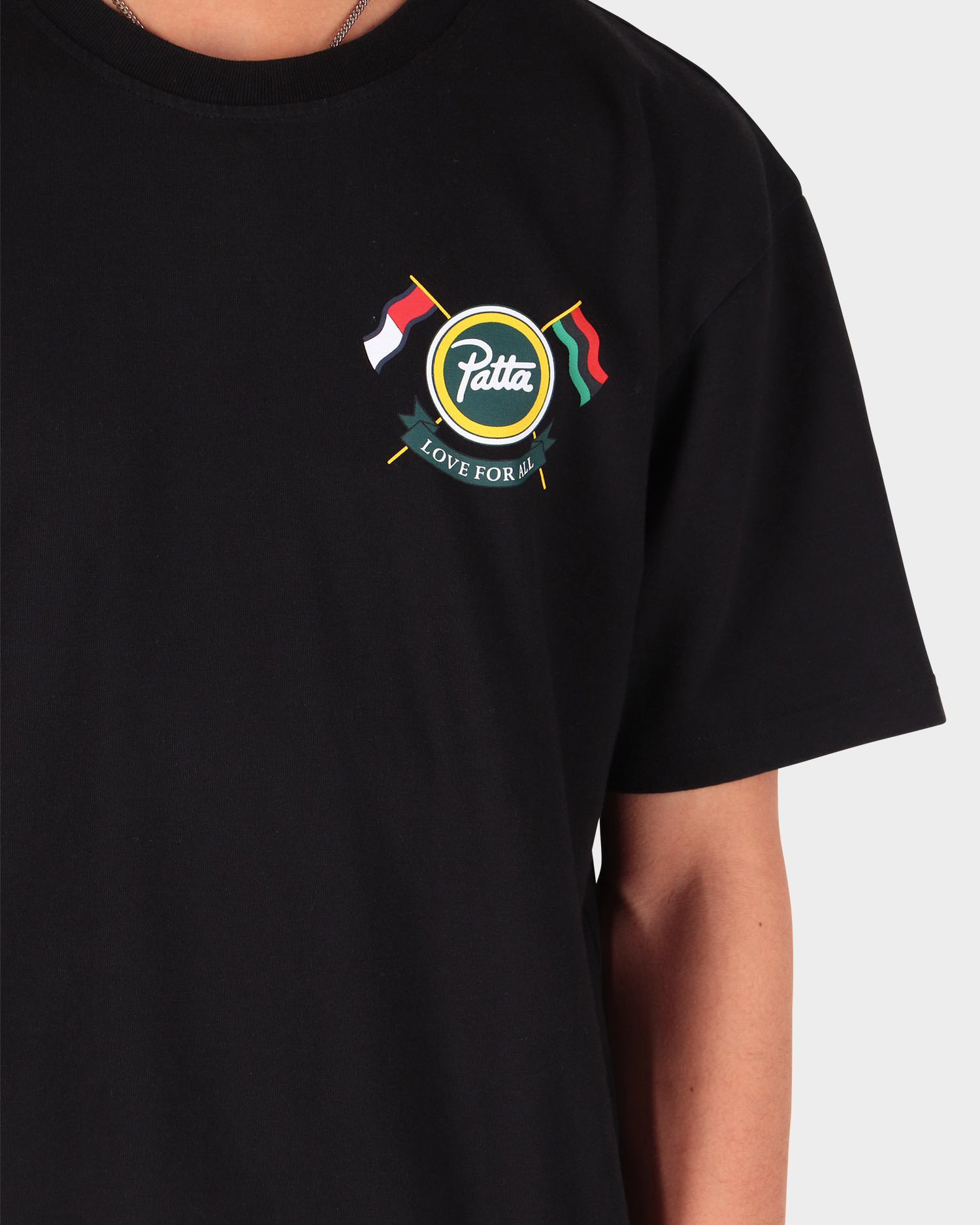 Patta x Tommy Community Tee Black