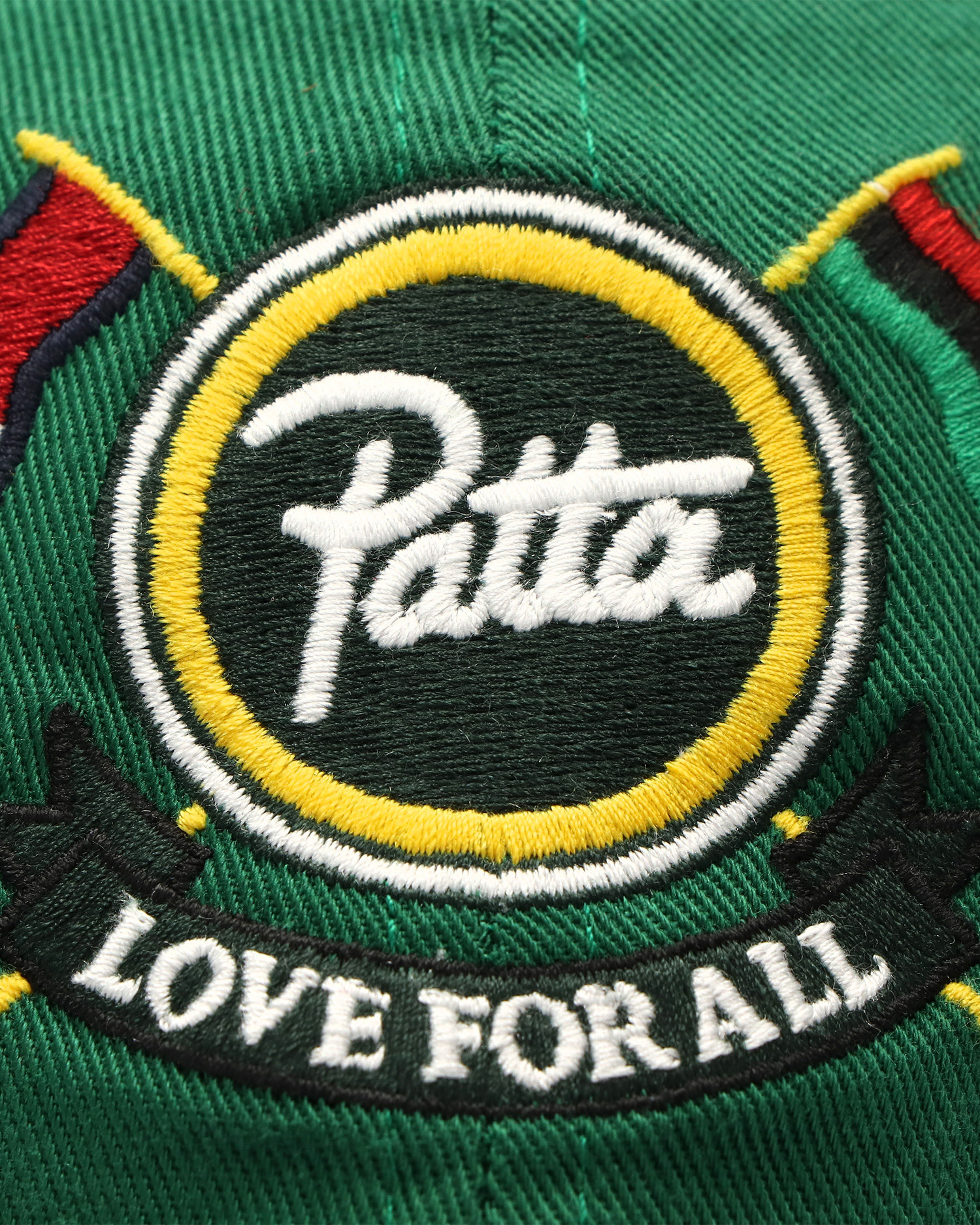 Patta x Tommy Cap Green Mix