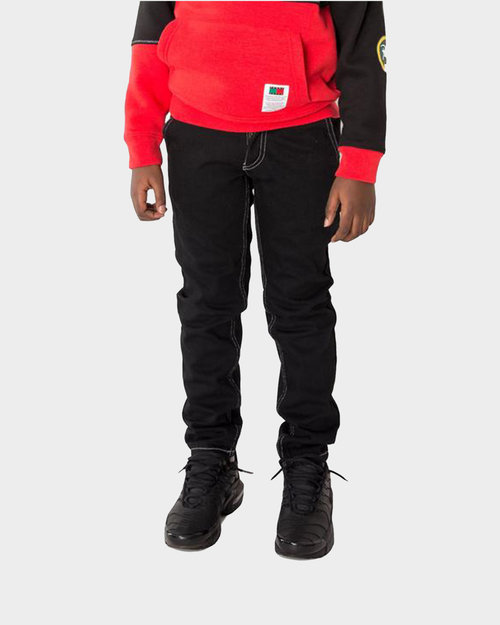Patta Kids Patta x Tommy Carpenter Pants Black