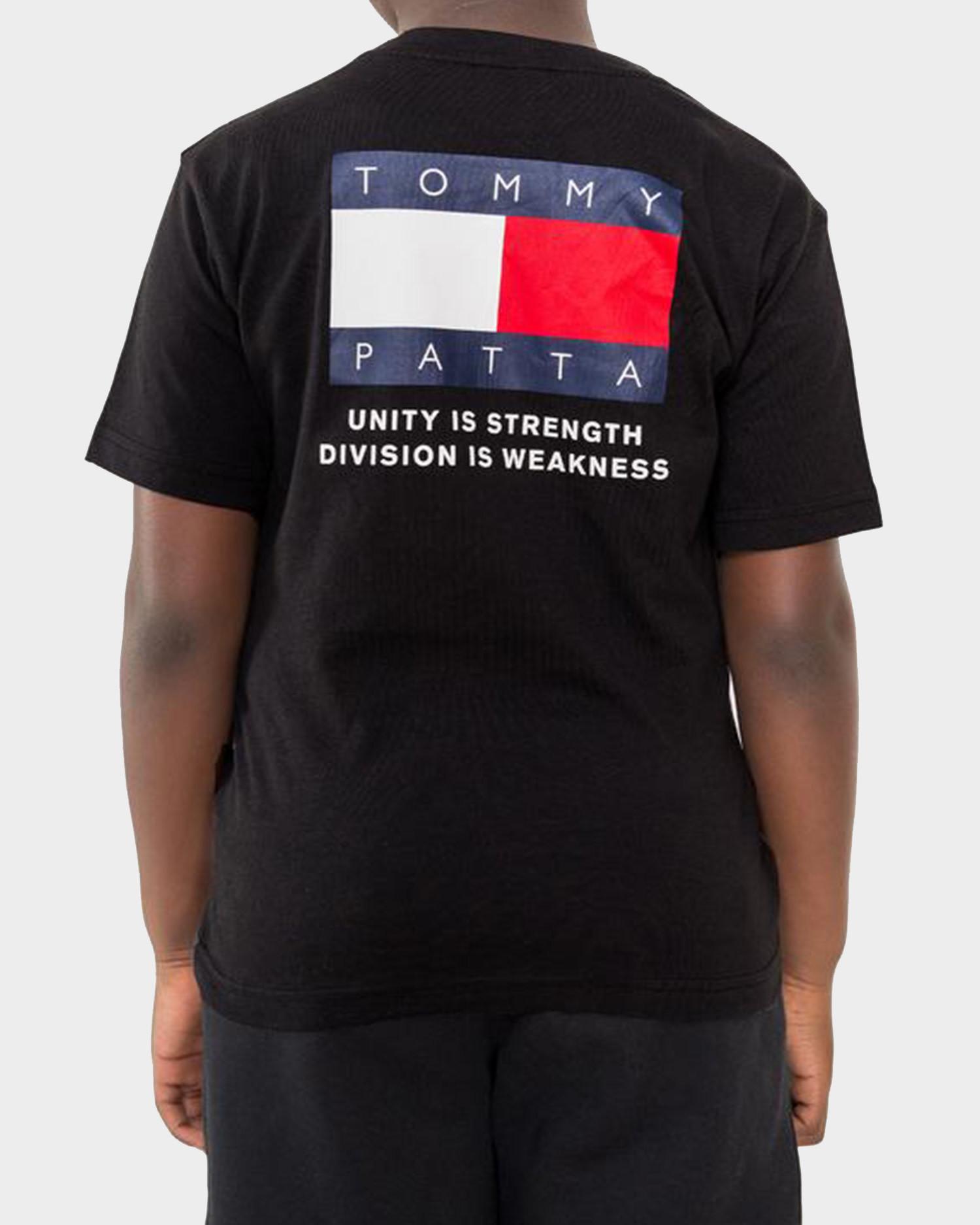 Kids Patta x Tommy Flag Tee Black