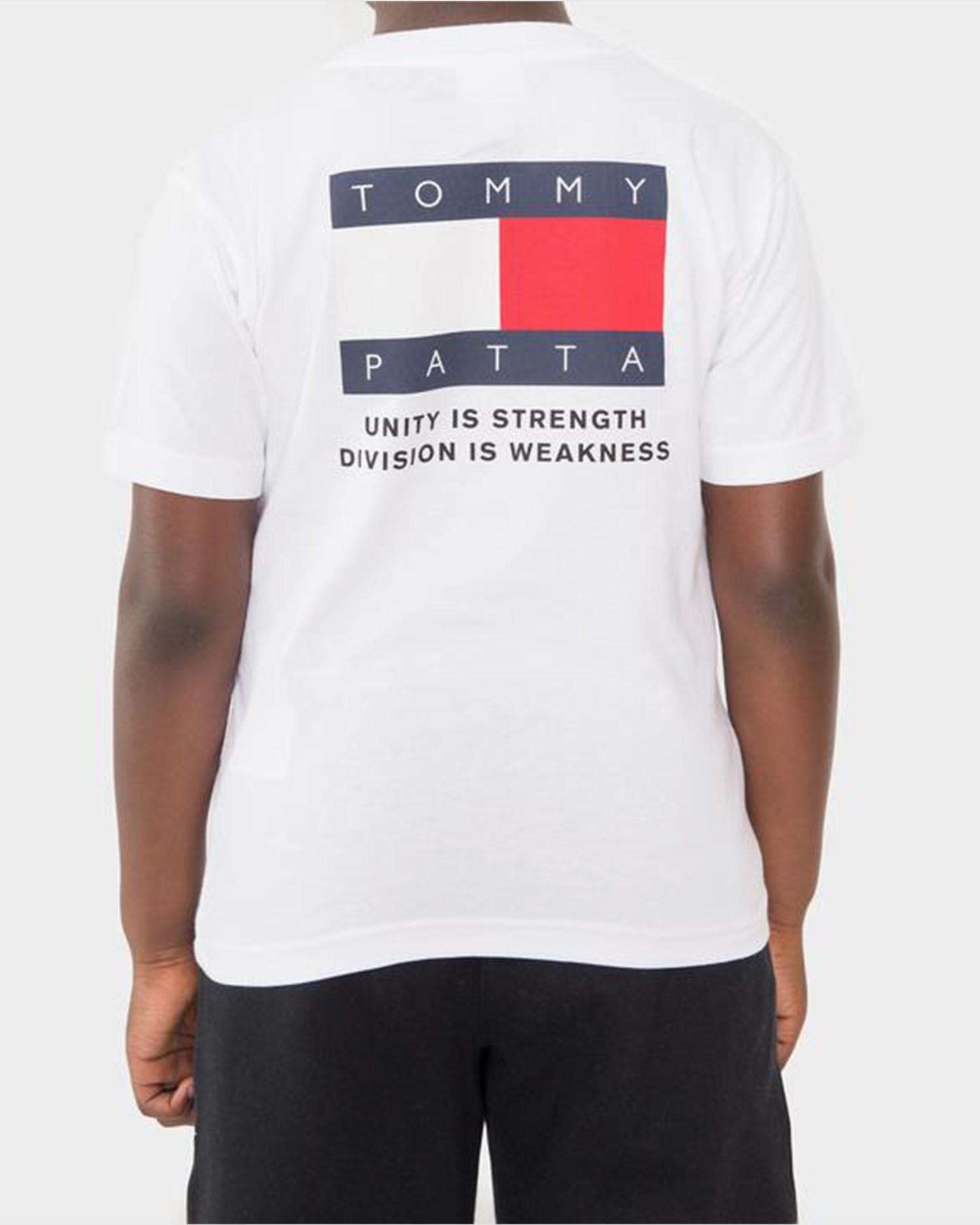 Kids Patta x Tommy Flag Tee White