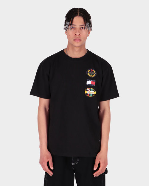 Patta Patta x Tommy Flag Tee Black