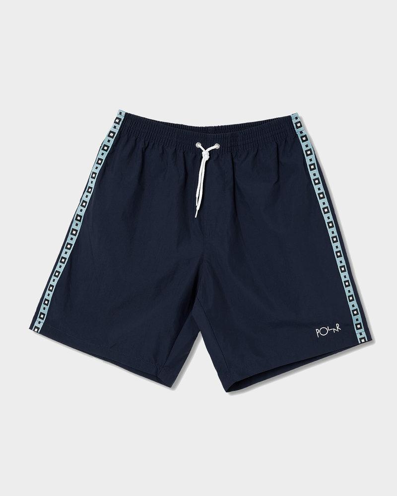 Polar Polar Square Stripe City/Swim Shorts Navy
