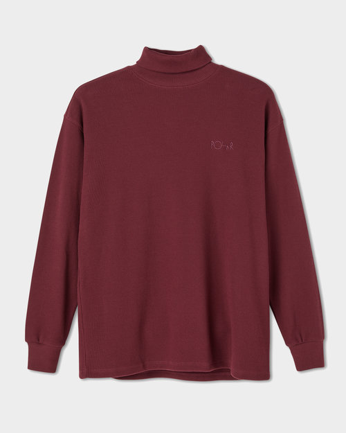 Polar Polar Shin Turtleneck Wine