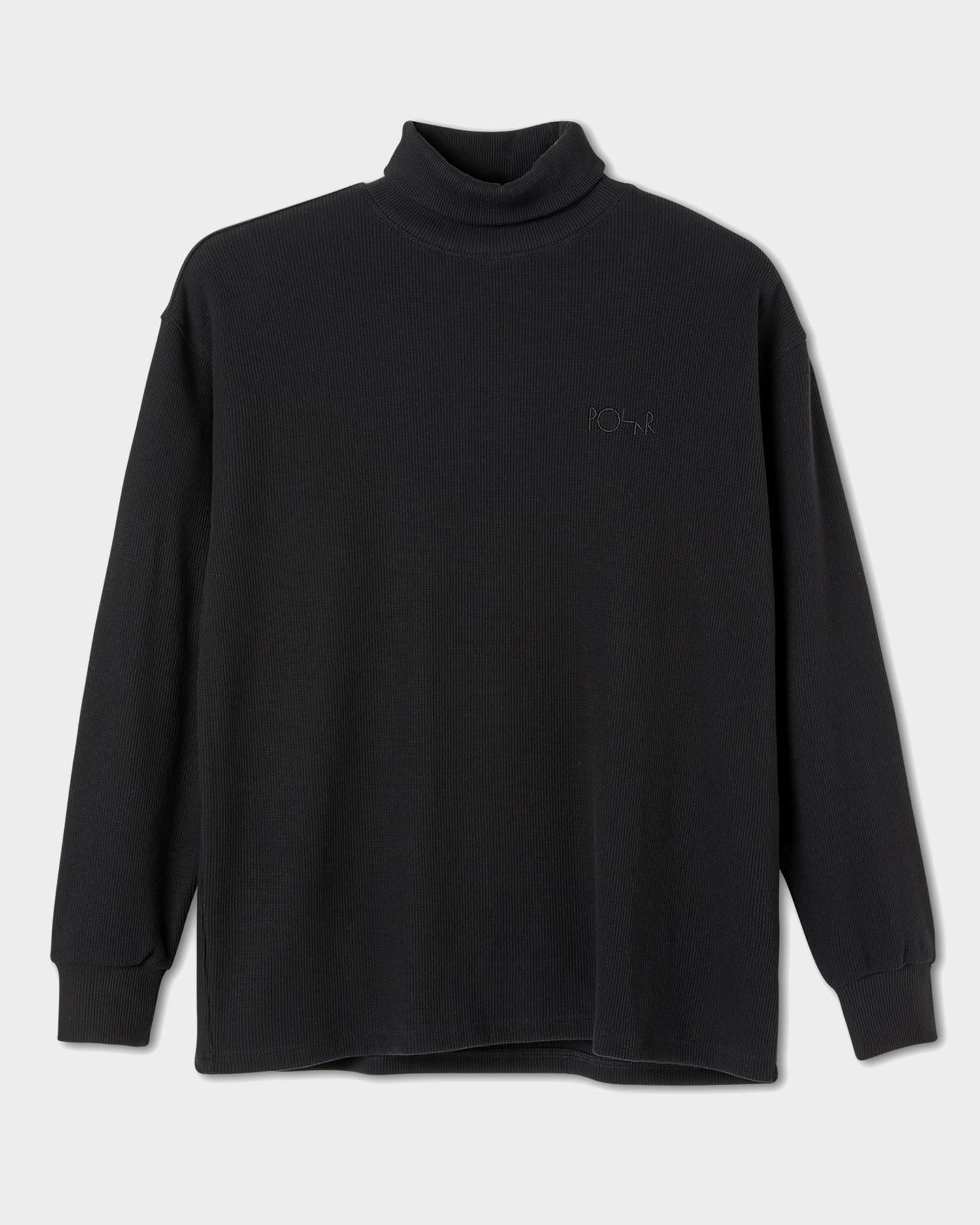 Polar Shin Turtleneck Black