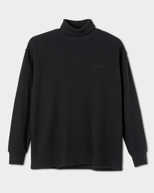Polar Polar Shin Turtleneck Black