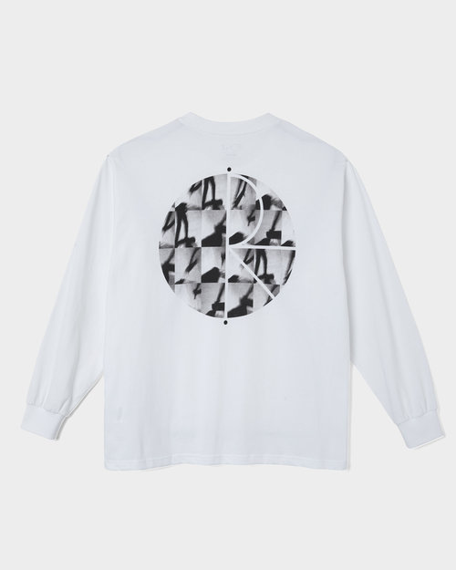 Polar Polar Sequence Fill Logo Longsleeve White