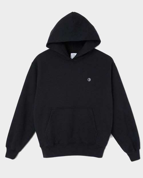 Polar Polar Patch Hoodie Black