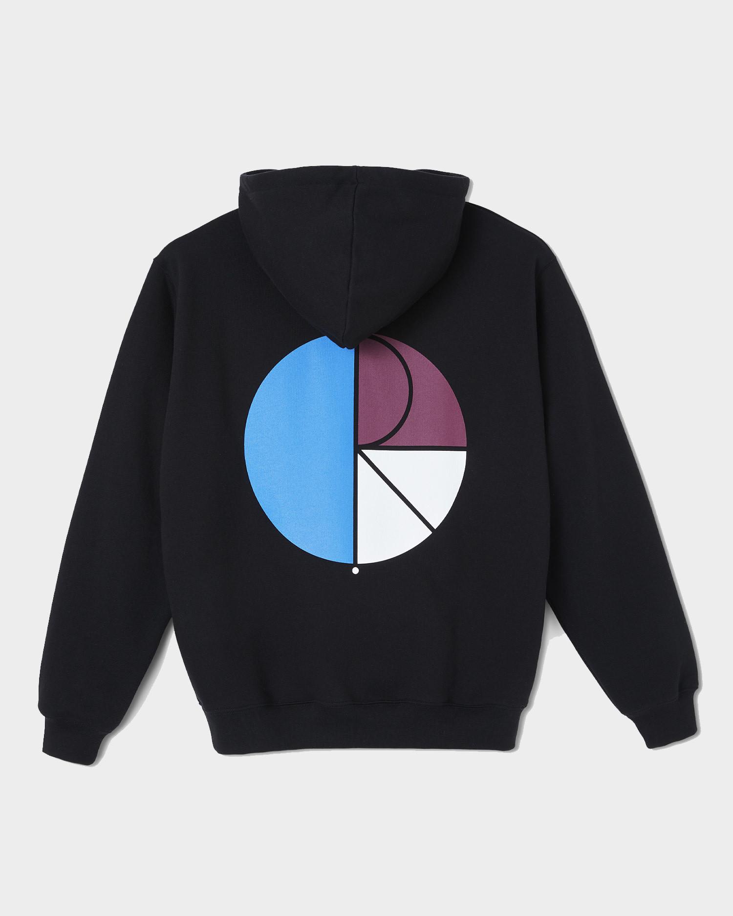 Polar 3 Tone Fill Logo Hoodie Black
