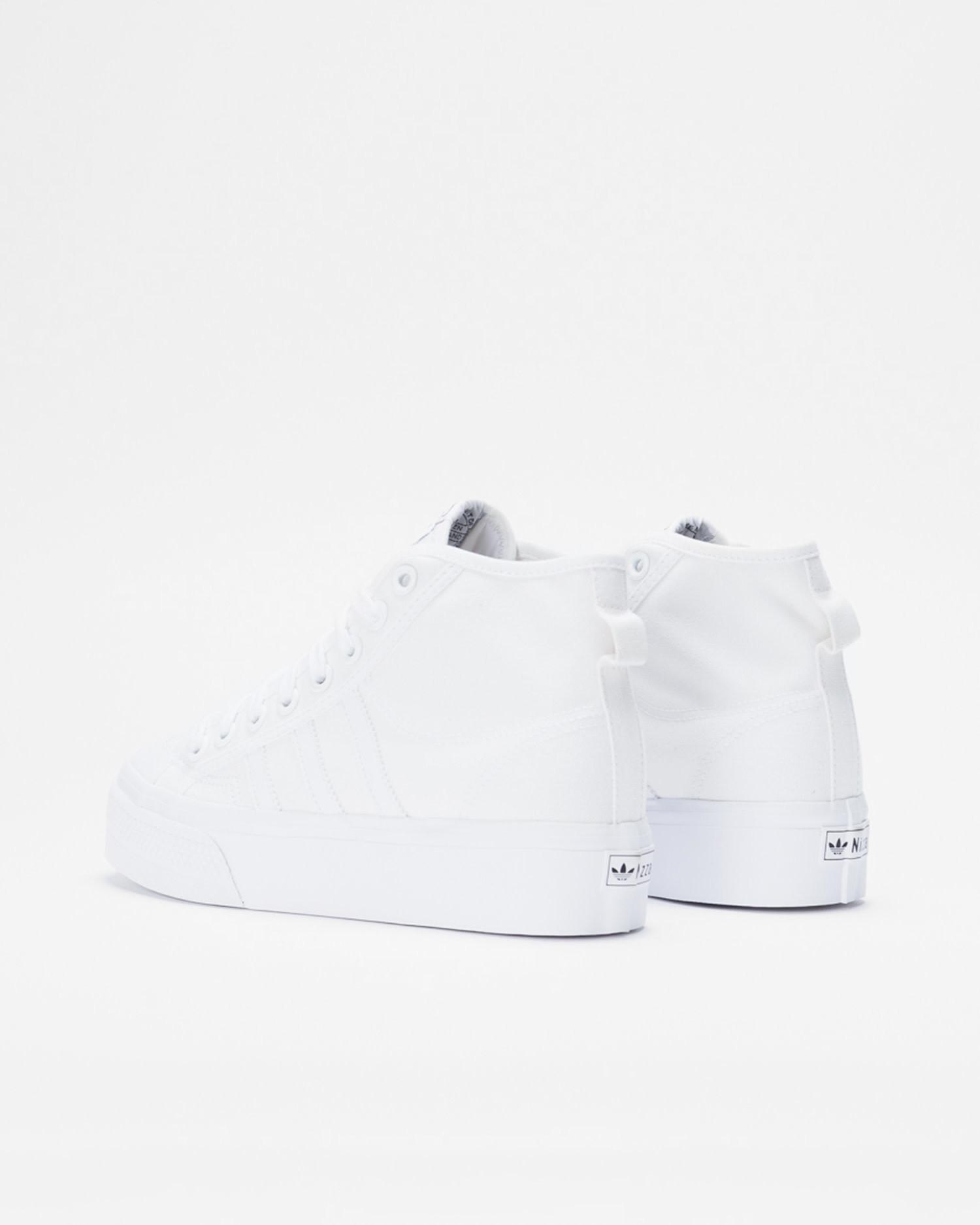 Adidas Nizza Platform Mid Ftwwht/Ftwwht