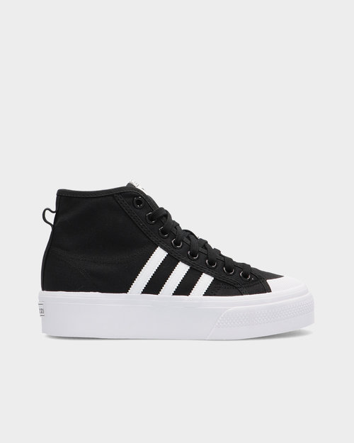 Adidas Adidas Nizza Platform Mid Cblack/Ftwwht/Ftwwht