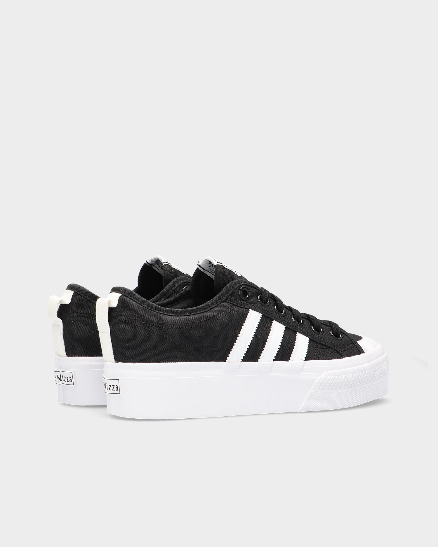 Adidas Nizza Platform W Cblack/Ftwwht/Ftwwt