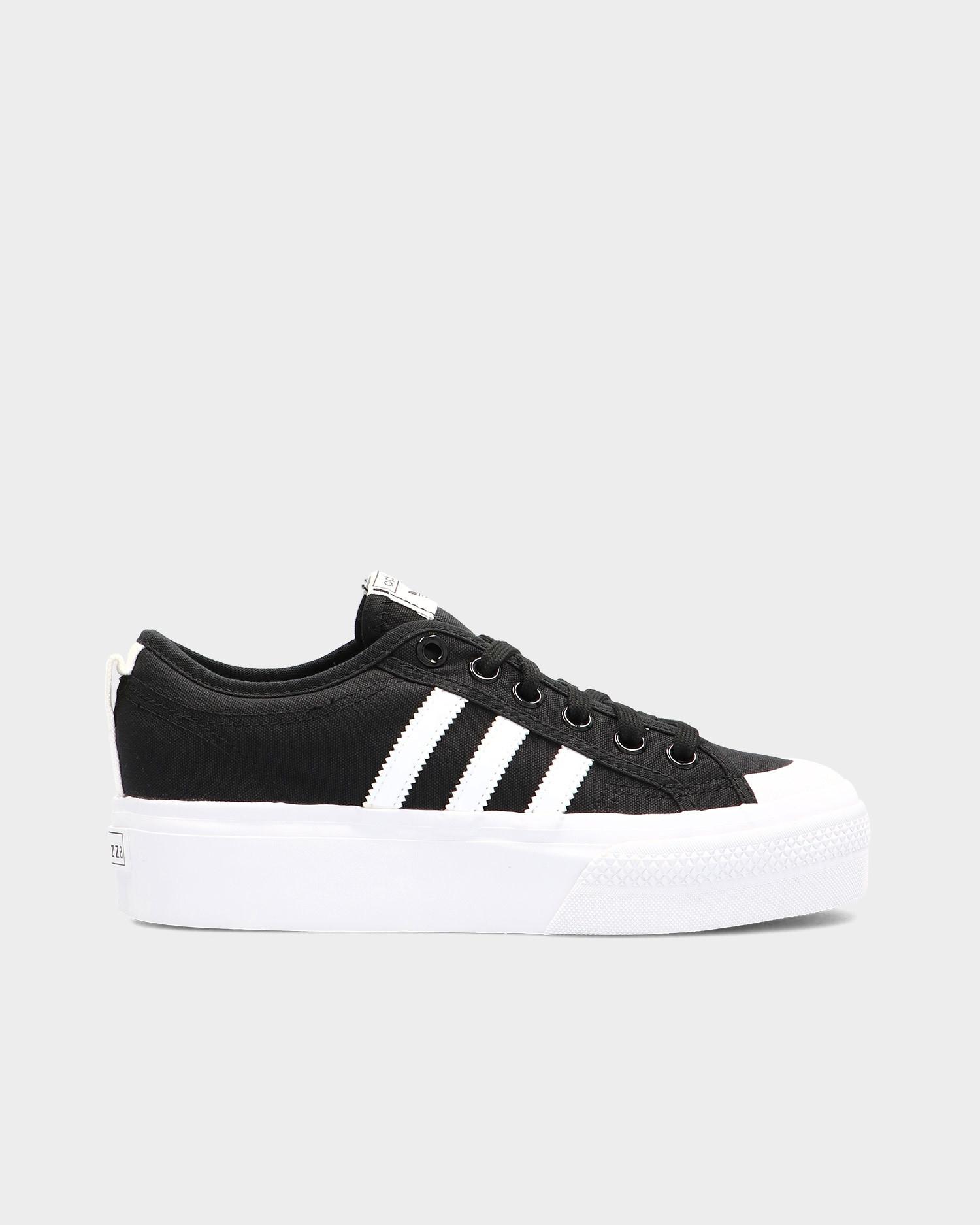Adidas Platform W Cblack/Ftwwht/Ftwwt