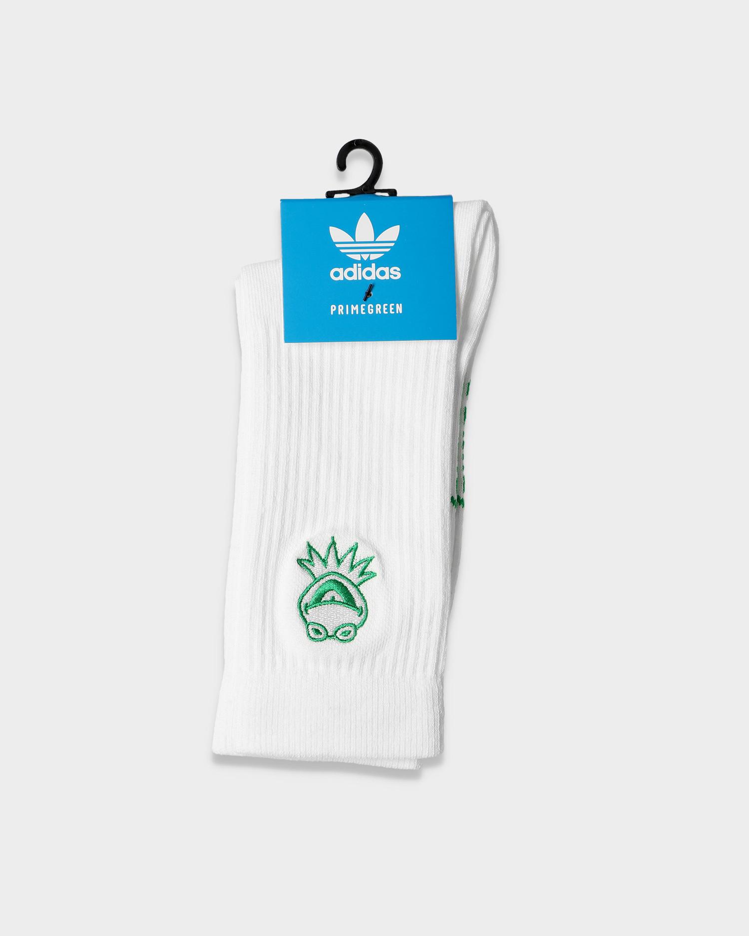 Adidas Kermit Sock White