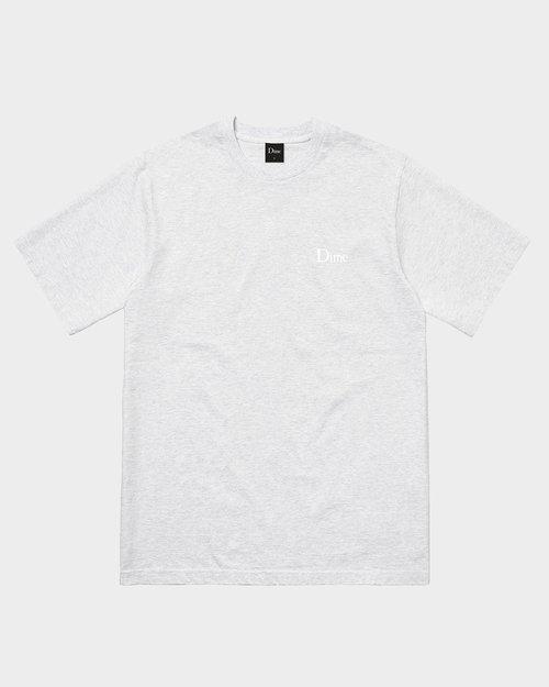 Dime Dime Classic Small Logo T-Shirt Ash