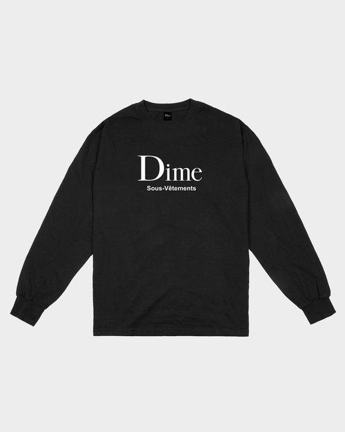 Dime Dime Sous-Vetements Longsleeve Black