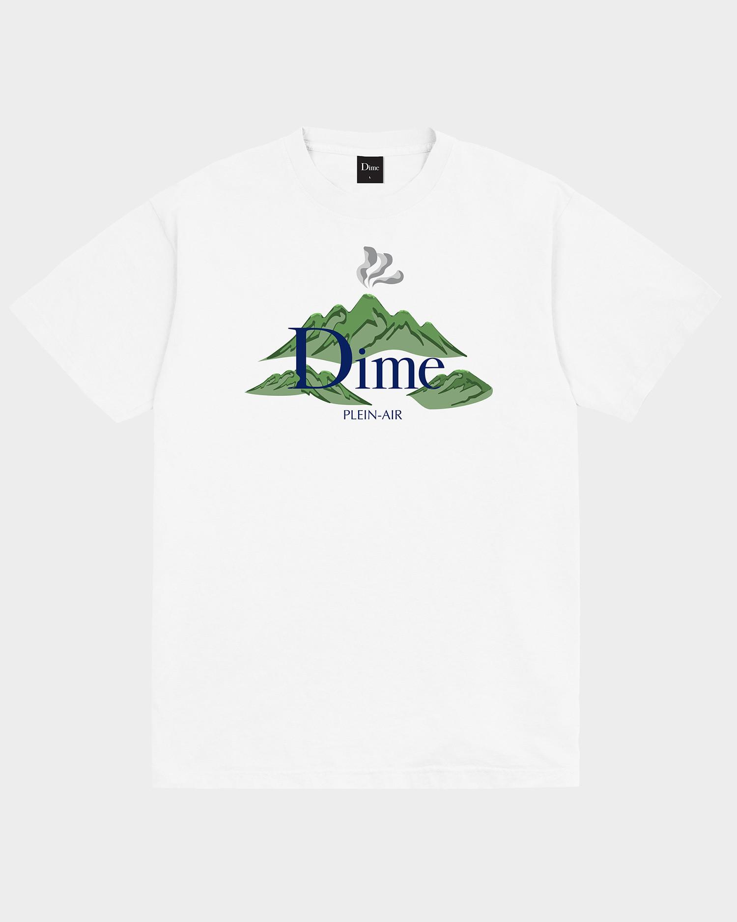 Dime Plein Air T-Shirt White
