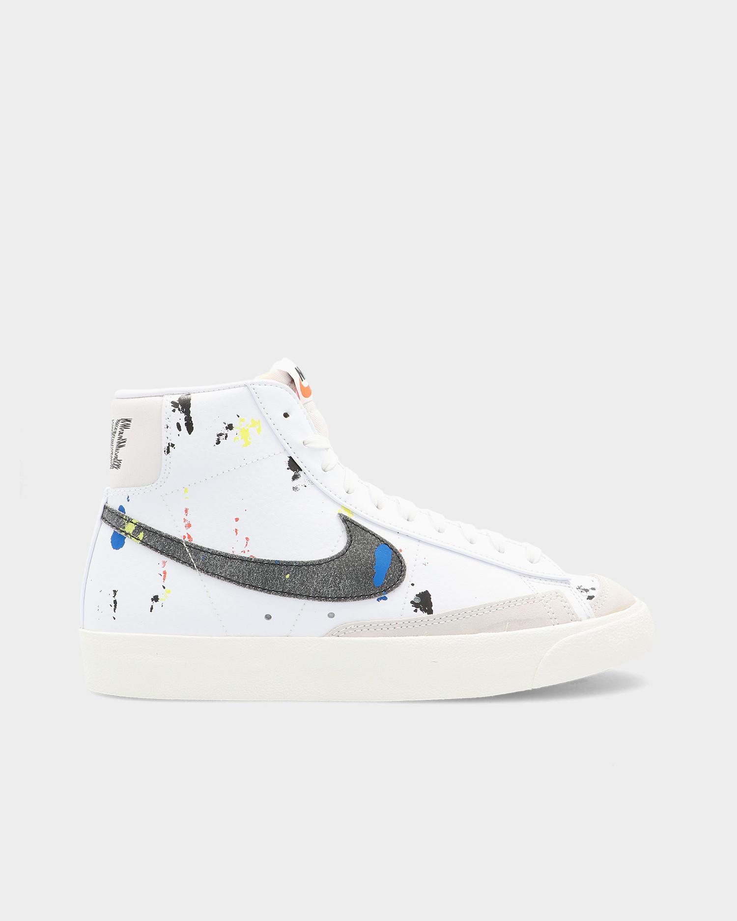Nike Blazer Mid'77 White/Black-White-Sail