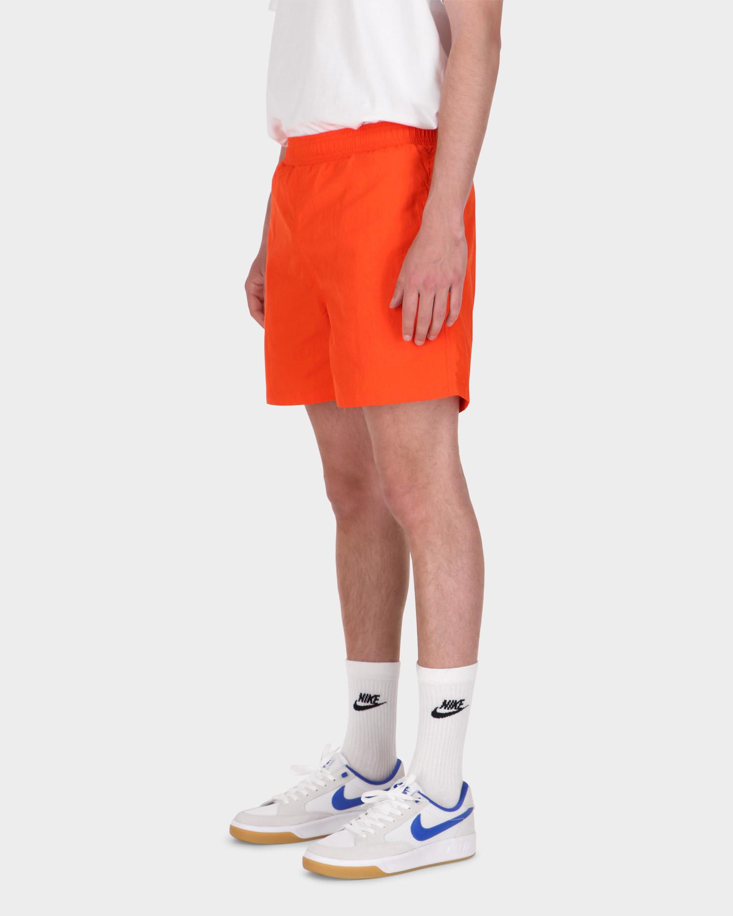 Patta Basic Nylon Swim Shorts Orange