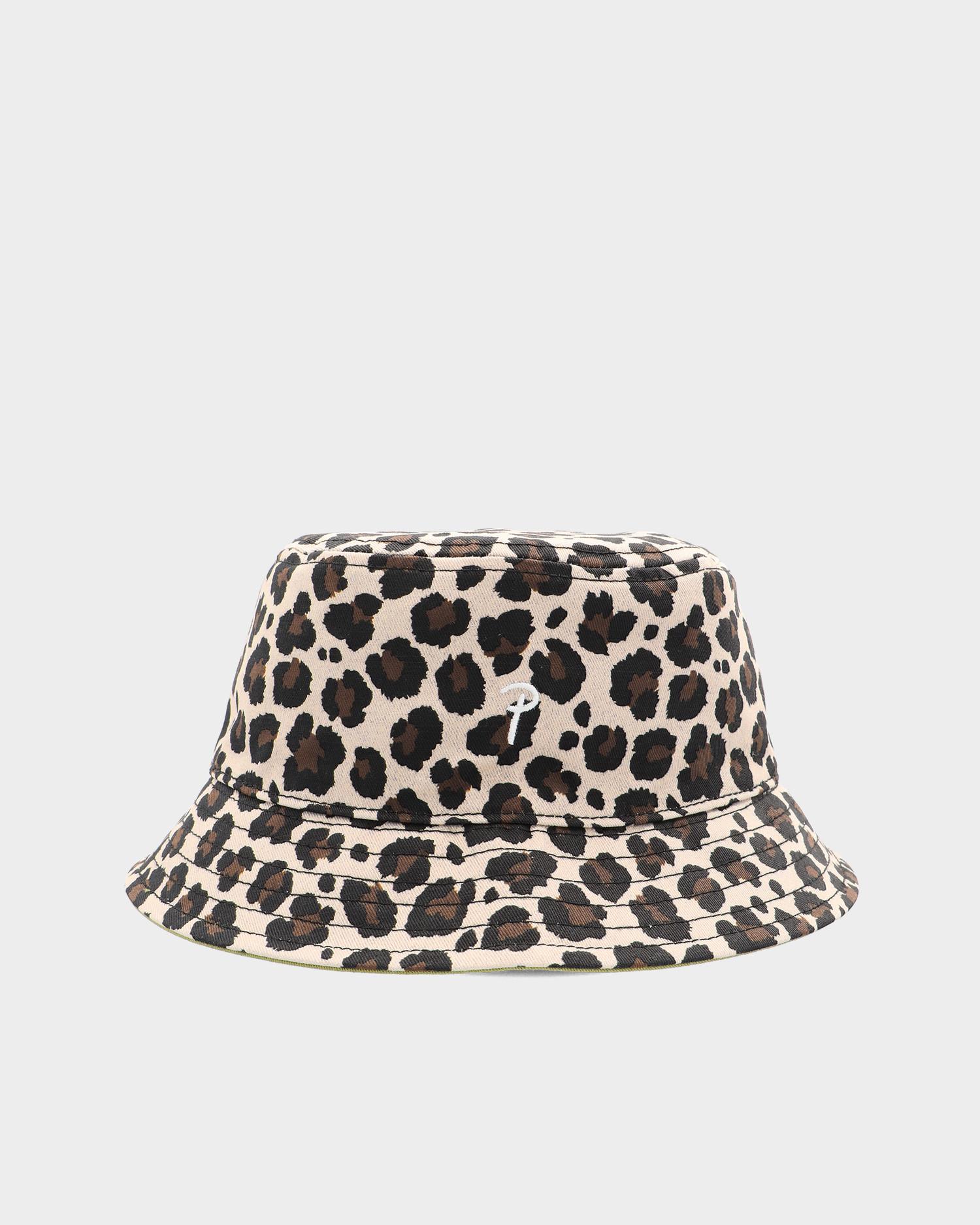 Patta Reversible Bucket Hat Classic Leopard/Calliste Green