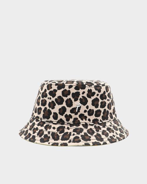Nike Patta Reversible Bucket Hat Classic Leopard/Calliste Green