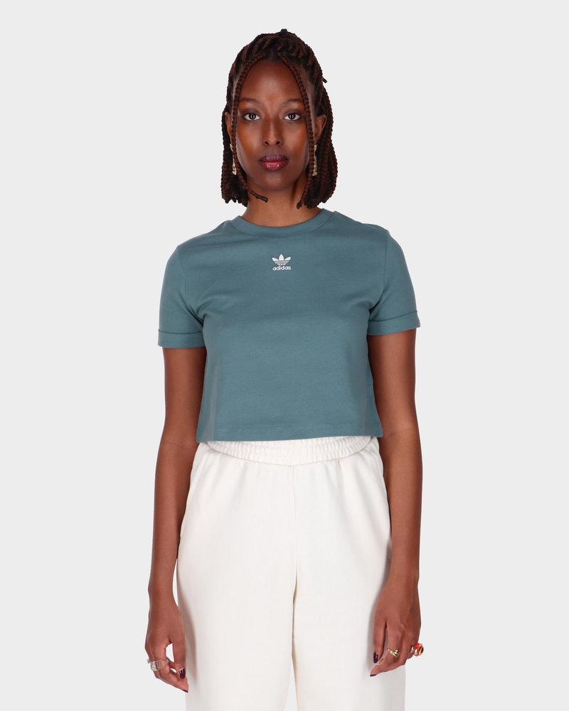 Adidas Adidas Crop Top Hazy Emerald