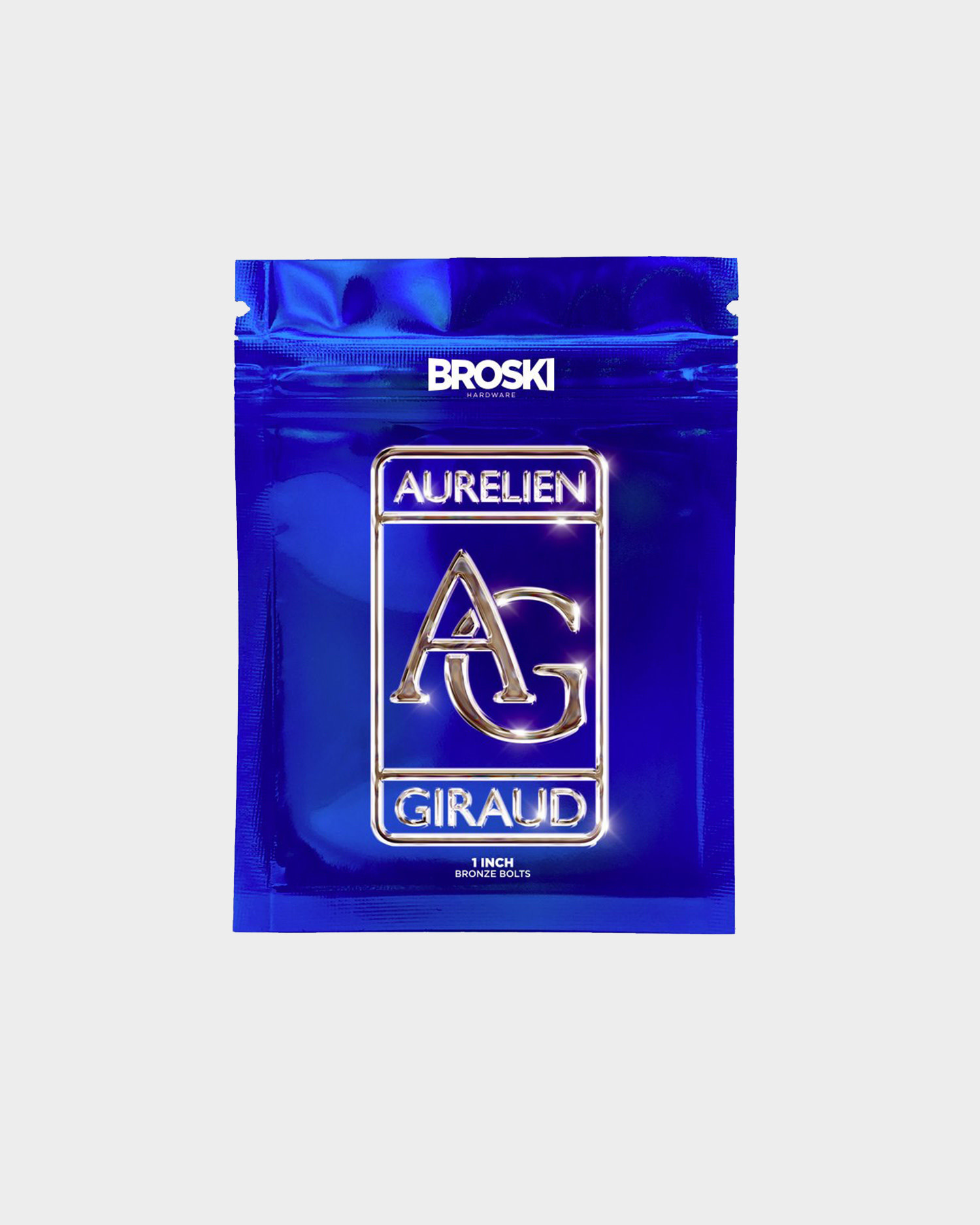 "Broski Hardware Aurelien Giraud 1"" Bronze"