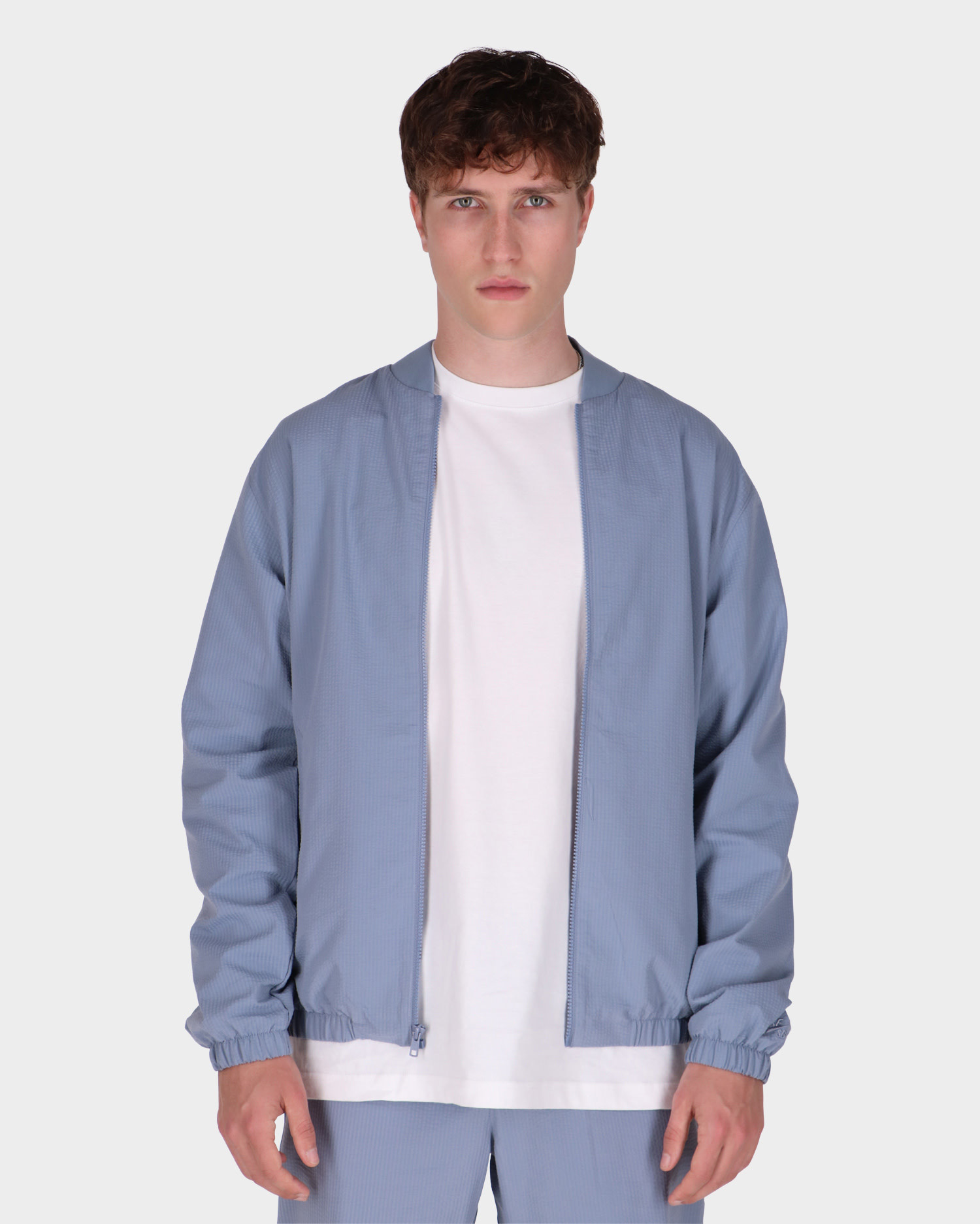 Nike SB Skate Jacket  Ashen Slate/Blue
