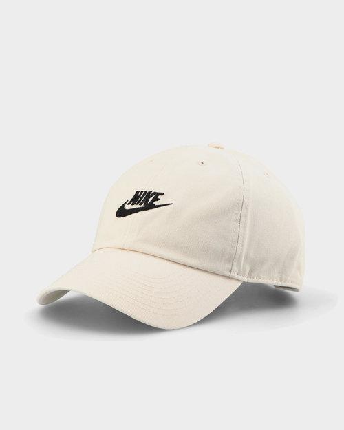 Nike Nike Sportswear Heritage 86 Futura Washed Cap Light Bone/Light Bone/Black