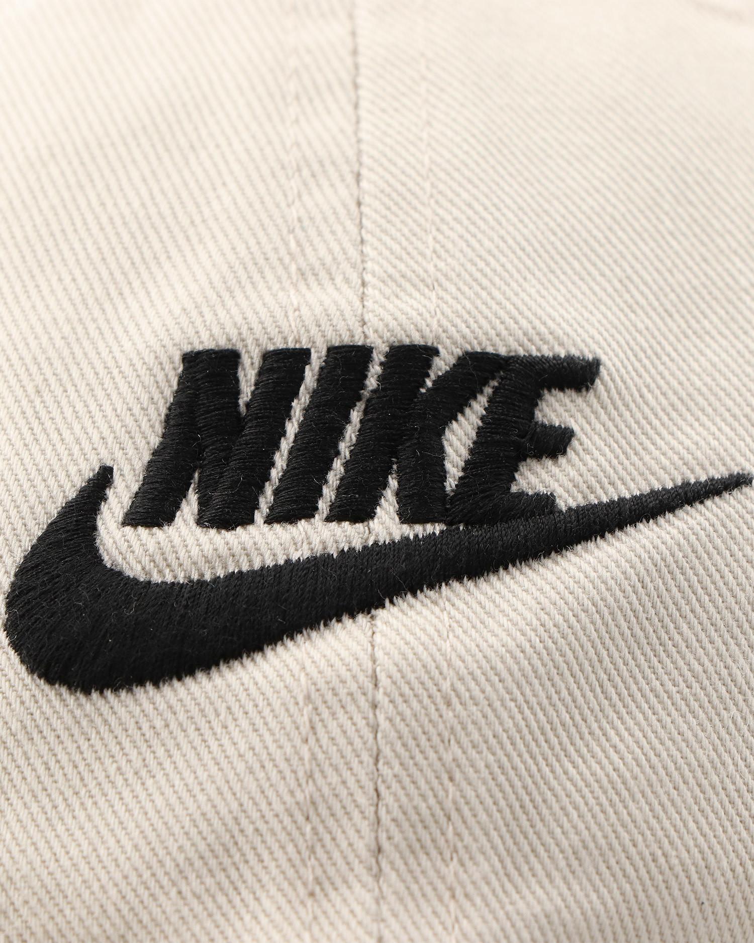 Nike Sportswear Heritage 86 Futura Washed Cap Light Bone/Light Bone/Black
