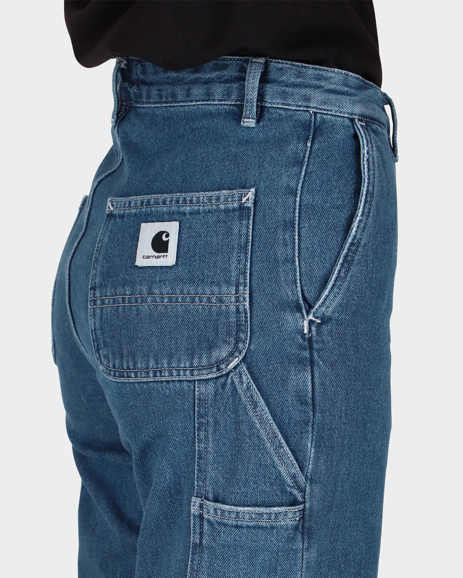 Carhartt W' Pierce Pant Blue Stone Washed